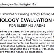 SBM 2015: Building Biology Standards
