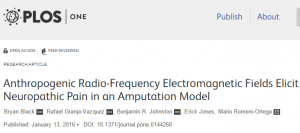Excessive exposure to Electromagnetic Field sources causes pain