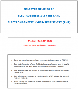 Electrosensitivity Electrohypersensitivity Studies
